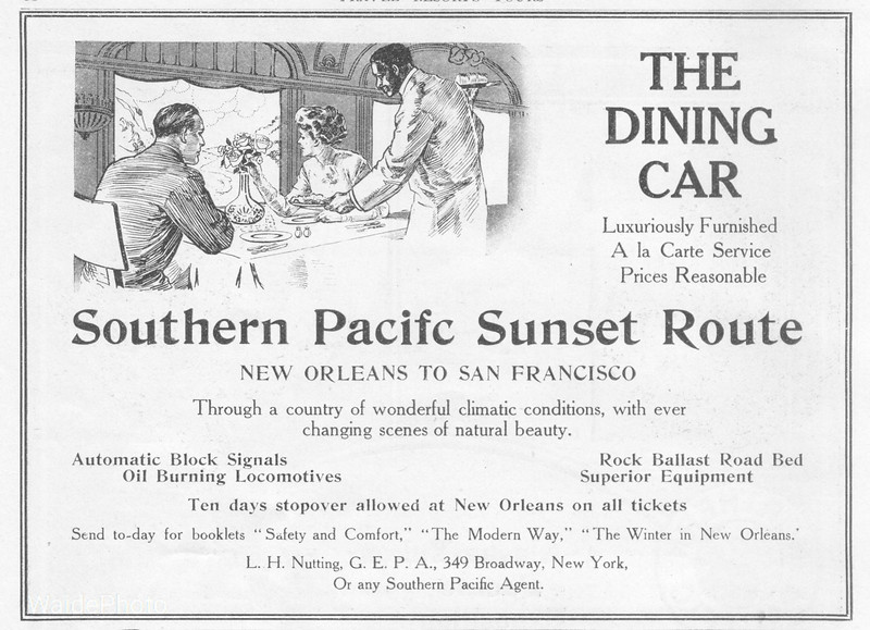 1909 Southern Pacific.