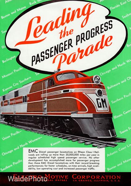 1941 Electro-Motive Corporation,  General Motors - Diesels Page 1 of 4.