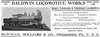 1895 Baldwin Locomotive Works.