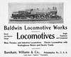 1904 Baldwin Locomotive Works.