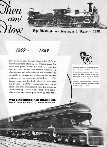 1939 Westinghouse Air Brake.