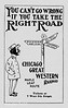 1905 Chicago Great Western Railway.