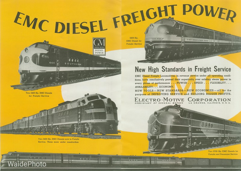 1941 General Motor's and Electro-Motive Corporation.