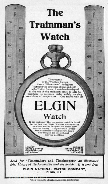1904 Elgin National Watch Company.