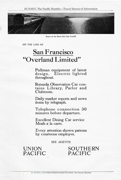 1912 Southern Pacific.