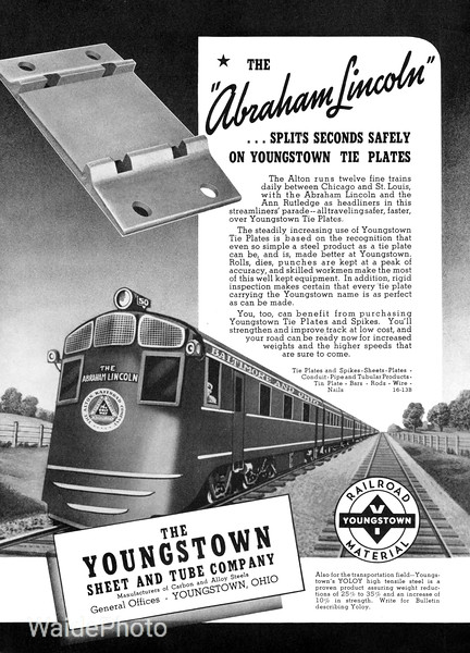 1940 Youngstown Sheet and Tube Company.
