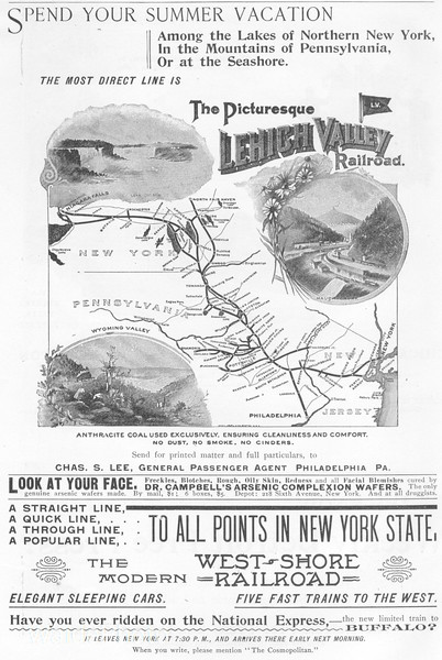 1895 Lehigh Valley Railroad.