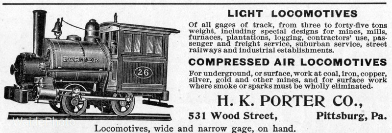 1900 H.K. Porter Company.
