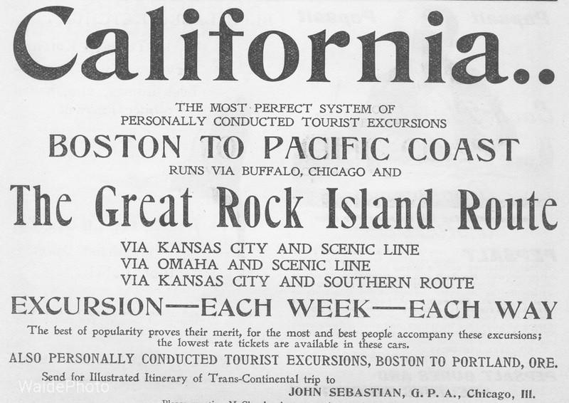 1890's Chicago, Rock Island & Pacific.
