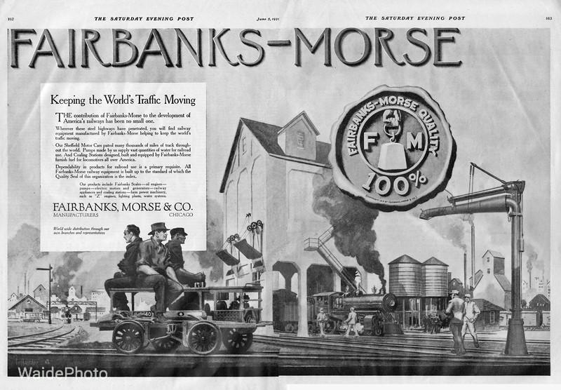 1920 Fairbanks Morse.