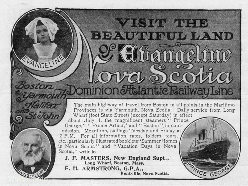 1906 Dominion Atlantic Railway.
