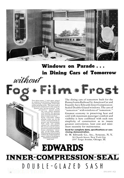 1940 O.M. Edwards Company.