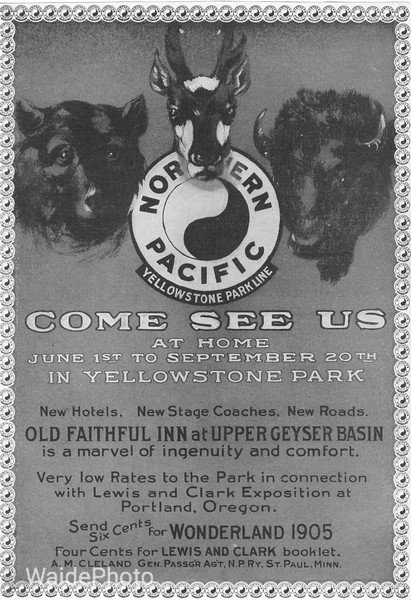 1905 Northern Pacific.
