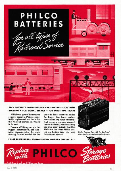 1943 Philco Corporation.