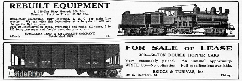 1939 Southern Iron & Equipment Company and Briggs & Turivas Inc