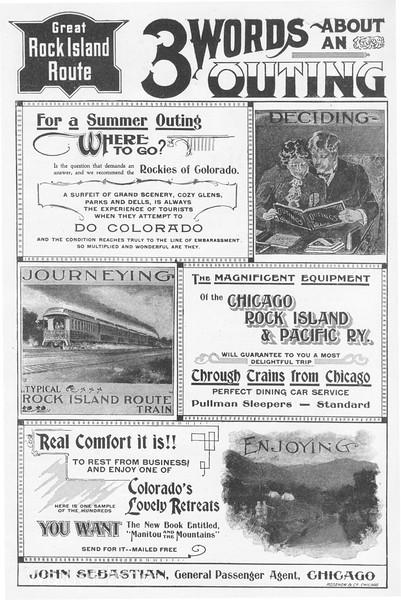 1899 Chicago, Rock Island & Pacific.