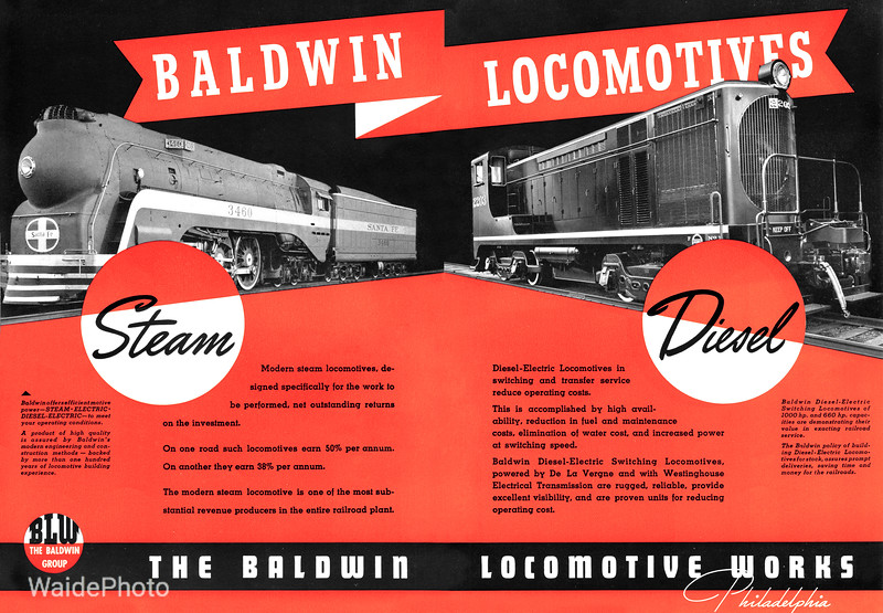 1940 Baldwin Locomotive Works.