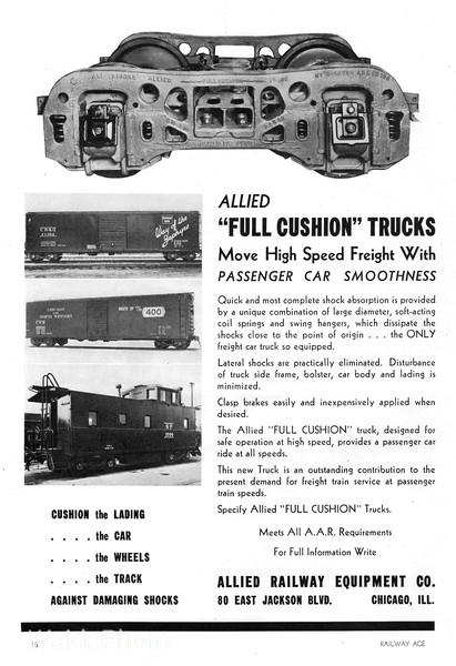 1941 Allied Railway Equipment Company.