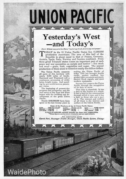 1918 Union Pacific.