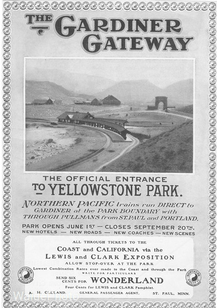 1900's Northern Pacific.