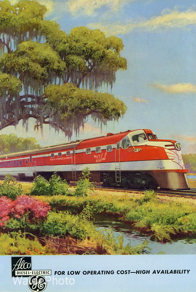 1941 Alco and General Electric.