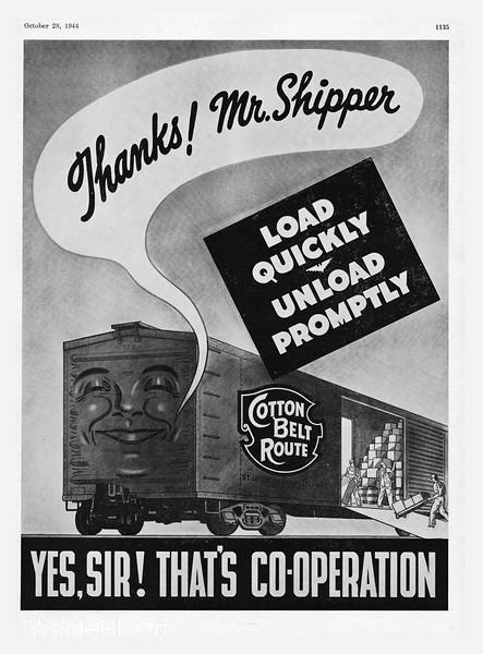 1944 St. Loius Southwestern Railway.