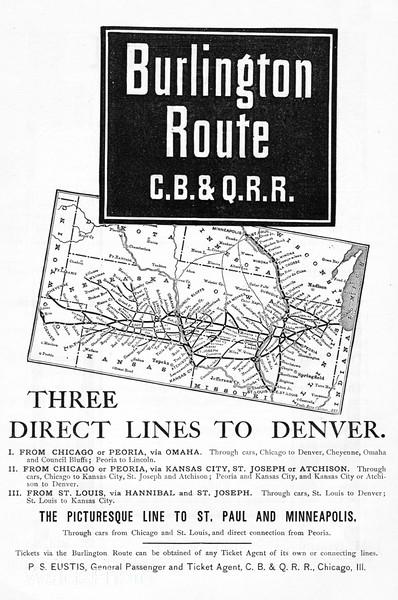 1888 Chicago, Burlington, & Quincy.