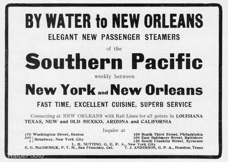 1903 Southern Pacific.