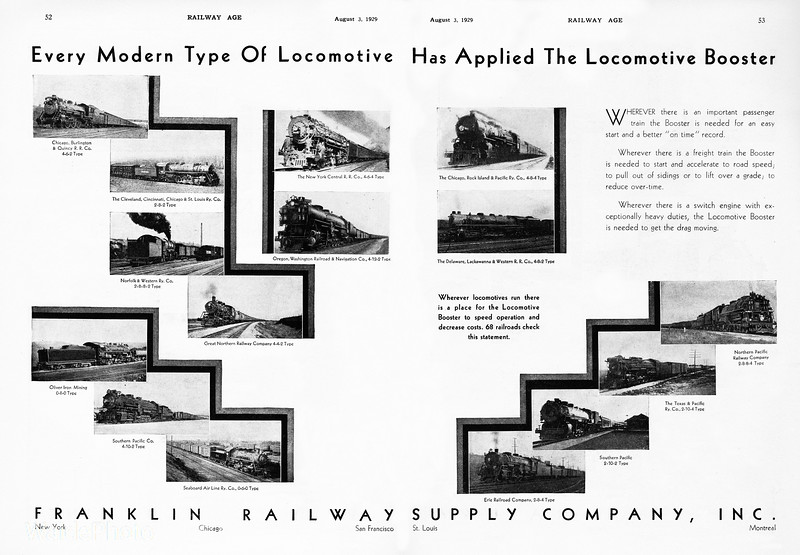 1929 Franklin Railway Supply Company, Inc.