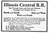 1912 Illinois Central.