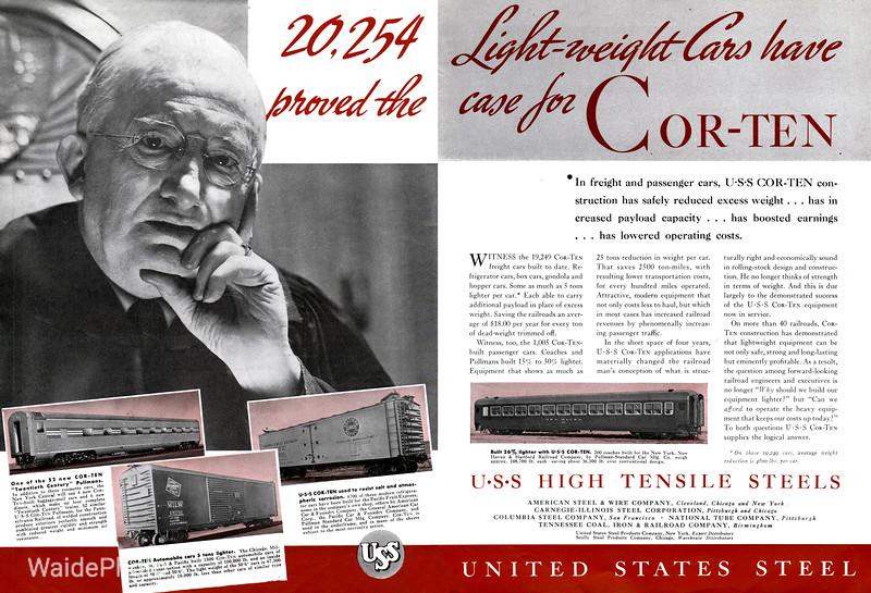1939 United States Steel.