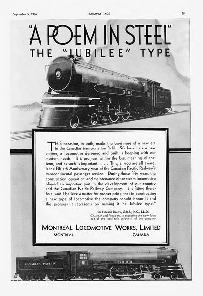 1936 Montreal Locomotive Works, Alco.