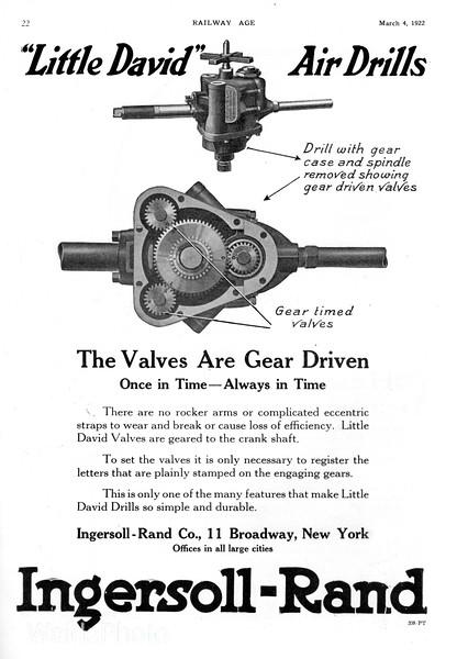 1922 Ingersoll-Rand Company.