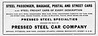 1906 Pressed Steel Car Company.