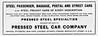 1906 Pressed Steel Car Company.