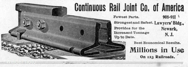 1900 Continuous Rail Joint Company of America.