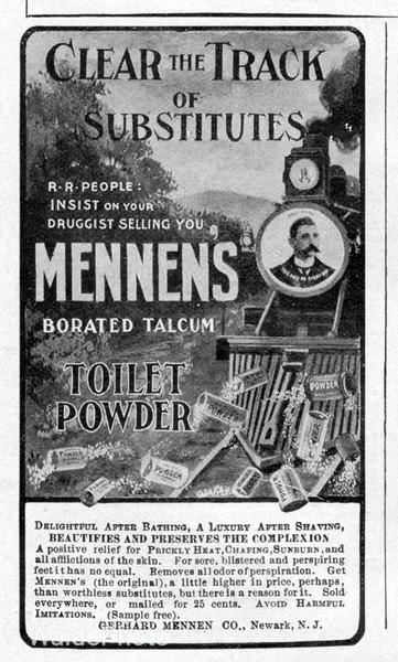 1904 Gerhard Mennens Company.