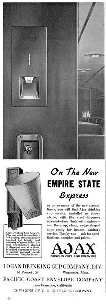 1941 Ajax, Logan Drinking Cup Company, Pacific Coast Envelope Company.