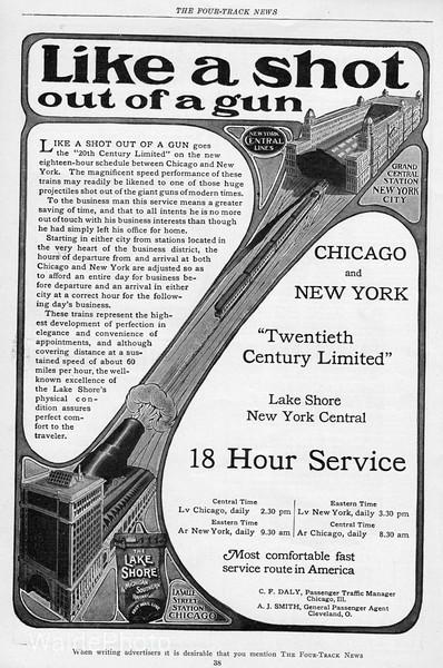 1904 Lake Shore & Michigan Southern.