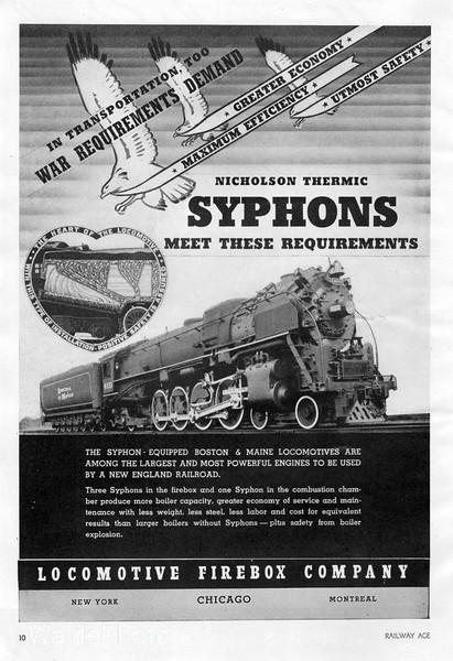 1941 Locomotive Firebox Company.