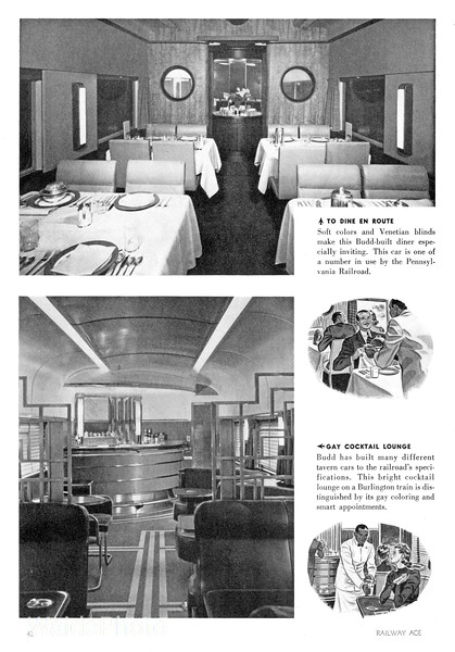 1940 Budd - Stainless Steel Passenger Cars Page 4 of 4.