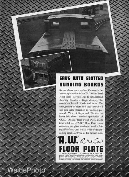 1941 Alan Wood Steel Company.