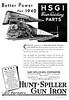 1940 Hunt-Spiller Manufacturing Corporation.