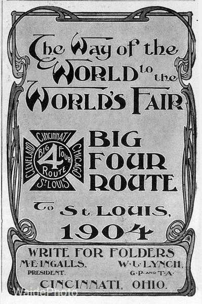 1904 Big Four Route.