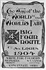 1904 Big Four Route.