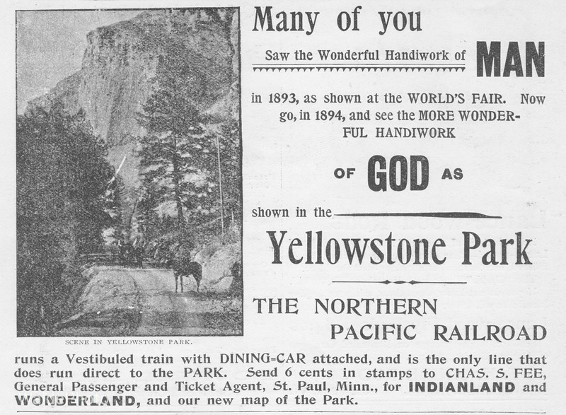 1894 Northern Pacific.
