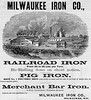 1874 Milwaukee Iron Company.
