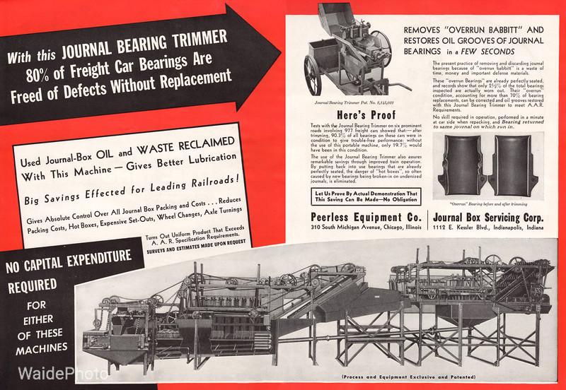 1941 Peerless Equipment Company.