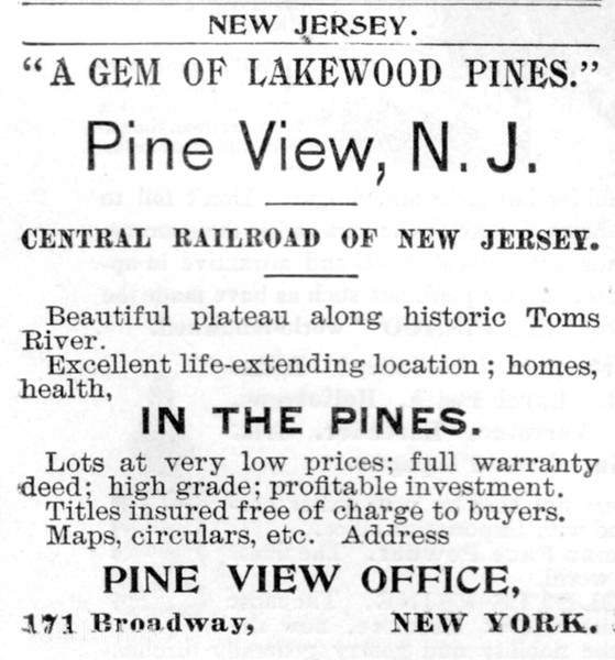 1895 Central Railroad of New Jersey.