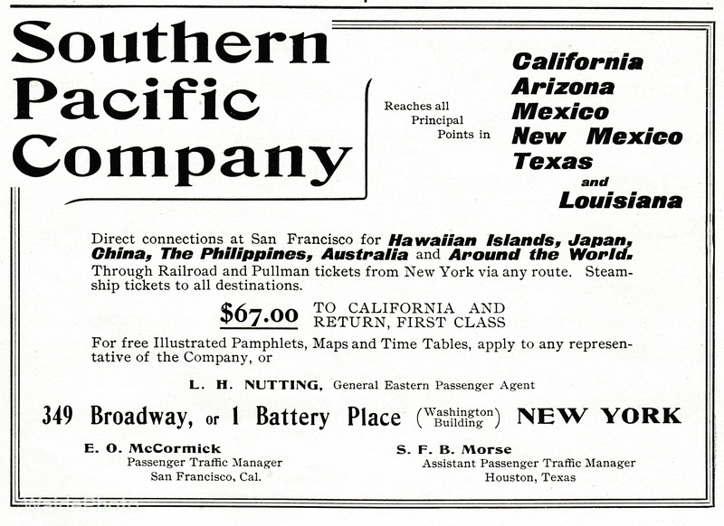 1902 Southern Pacific.